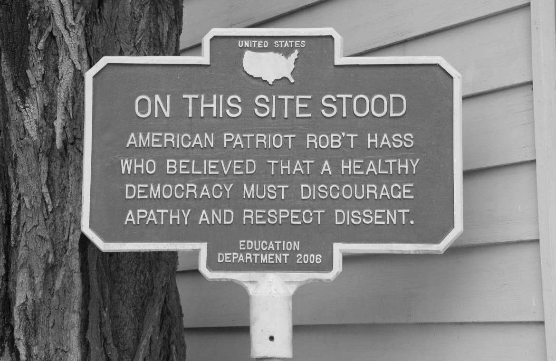 Dissidence et USA