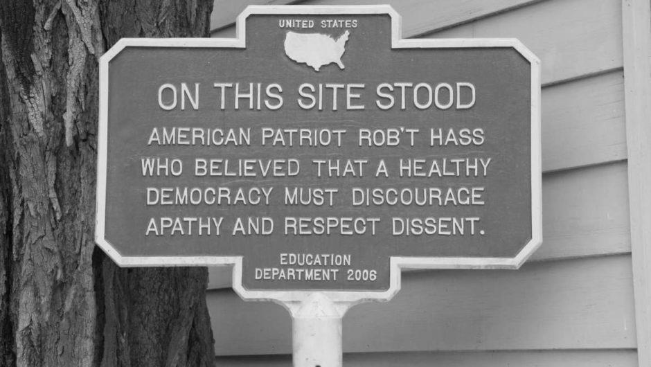 Le droit à la dissidence est crucial pour la démocratie américaine