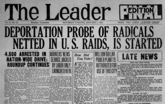 La Première Guerre mondiale et la répression de la dissidence